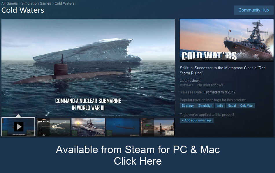 Cold WatersSteam Store